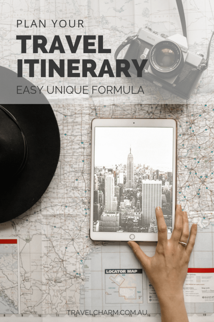 Don't know where to start planning your travel itinerary? This formula will make it easy. #travelplanning #travelitinerary #itinerary