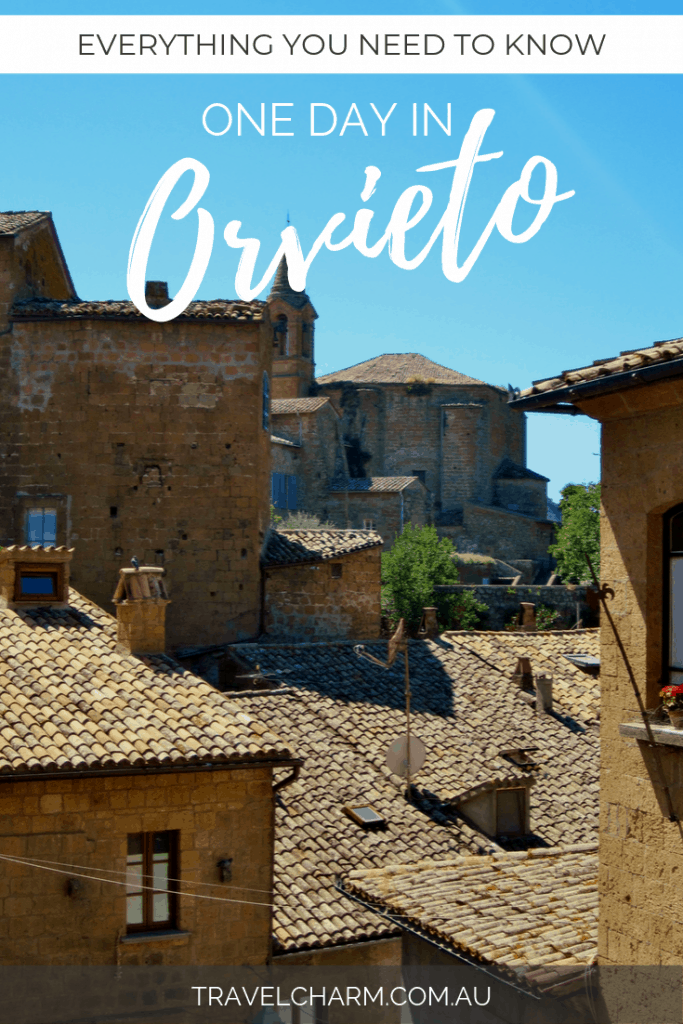 Everything you need to know for a great day in Orvieto, Italy #orvieto #italy