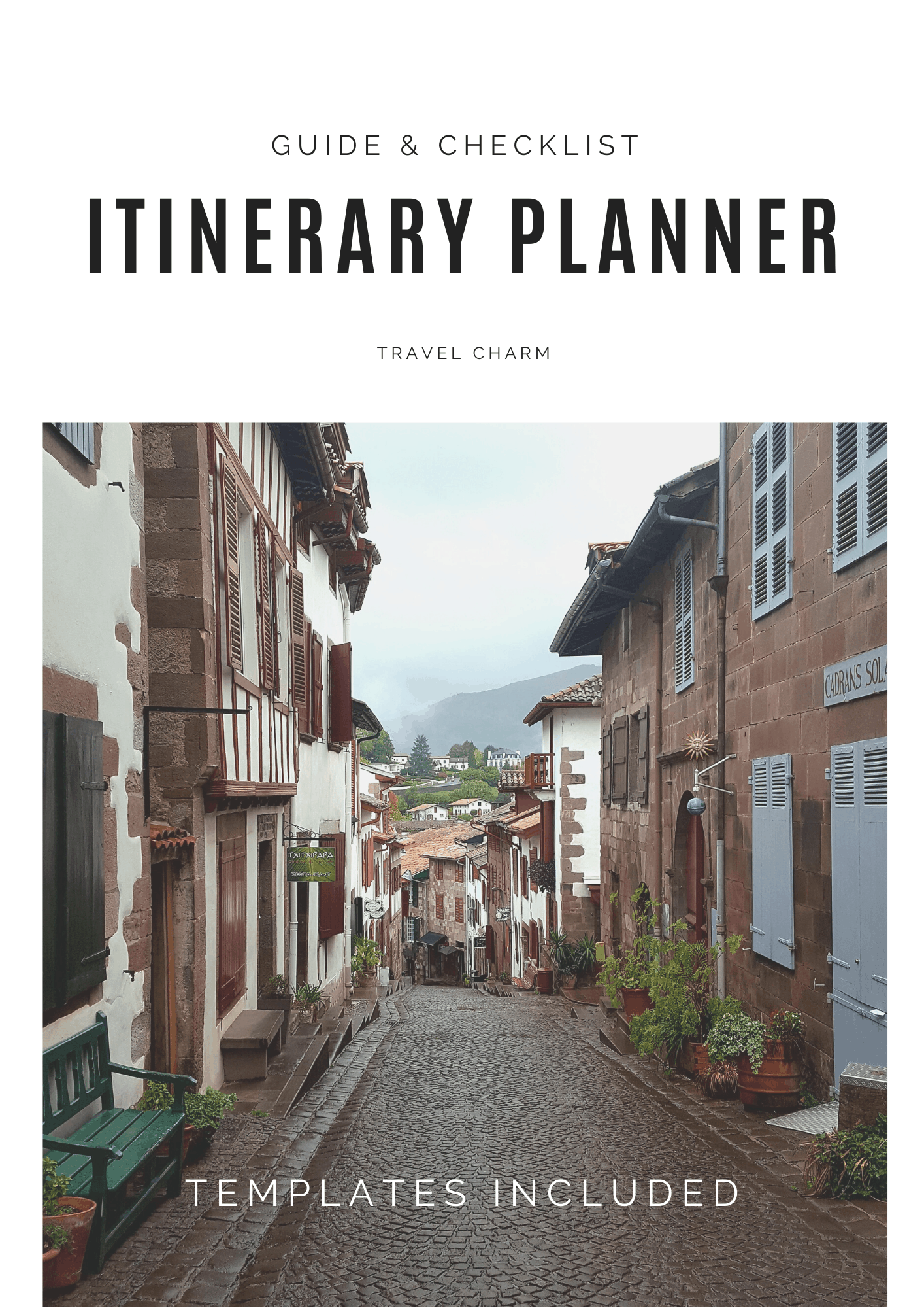 Itinerary Planner Guide & Checklist