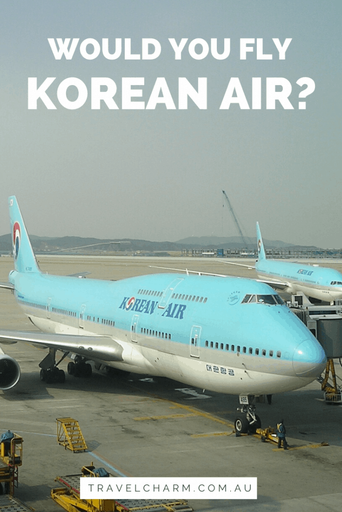 My experience with Korean Air