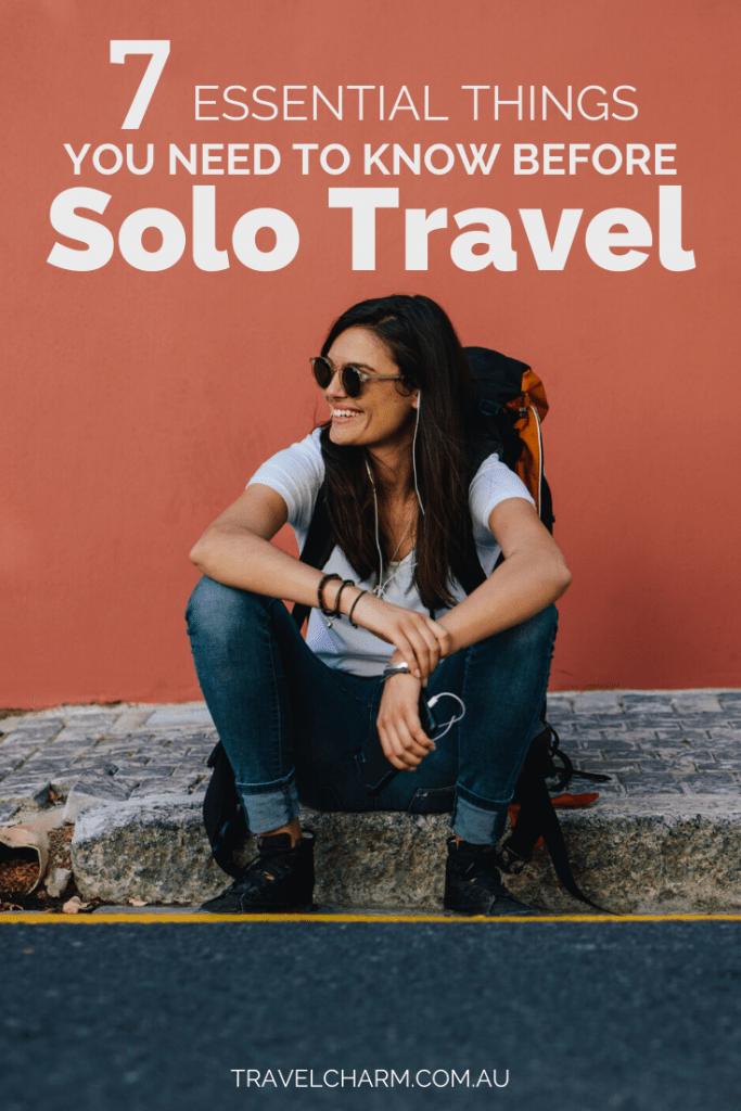 Solo travel is different. Are you prepared? #solotravel #femalesolotraveler #solo
