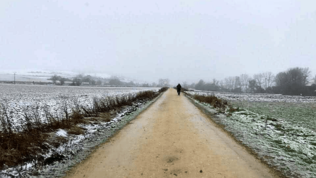 What's the difference about a Winter Camino and a Summer Camino? Read on to find out what you need to know before walking a Winter Camino, solo. #camino #wintercamino #solocamino
