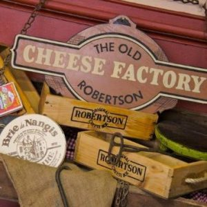 A weekend trip to Robertson Cheese Factory with Dan is always an experience to remember.